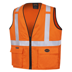 100% Cotton Safety Vests | Pioneer