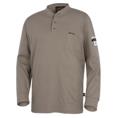 100% Cotton FR Interlock 7 oz. Henley Shirts | Pioneer