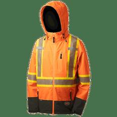 Hi-Viz Softshell Waterproof/Breathable Premium Safety Jackets | Pioneer