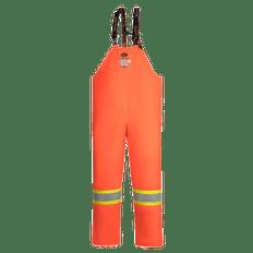 Hi-Viz FR ARC PU/Cotton Rain Bib Pants | Pioneer