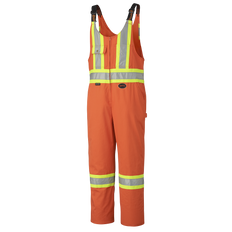 Poly/Cotton Safety Overall 7 oz. with Leg Zippers | Pioneer