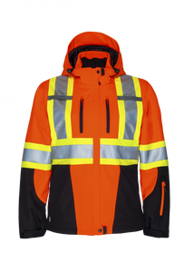 W'S Hi-Vis 3 Layer Insulated Softshell Jacket  | Projob