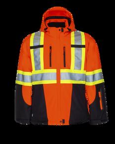 Hi-Vis 3 Layer Insulated Softshell Jacket | Projob