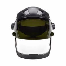 QUAD 500 Faceshield Clear Antifog PC Shd 5 FLIP w/HHIS | Jackson Safety