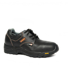 BLACK SAFETY SHOES WITH NO METATARSE, CHEMIK FAMILY