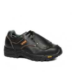 BLACK SAFETY SHOES W/ EXT. METATARSE, CHEMIK FAMILY