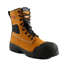 SAFETY BOOTS 5E TAN 8'' NO MET, DRY-ICE, CONTRACTOR FAMILY