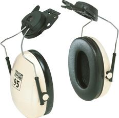 Peltor™ Optime™ 95 Series Earmuffs, Cap Mount, 21 NRR dB | 3M