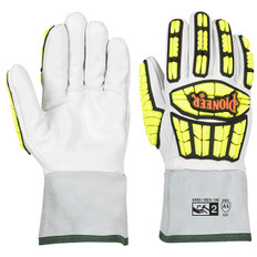 Goatskin Gauntlet TPR Impact-Resistant Glove, Cut Level A5 | Pioneer