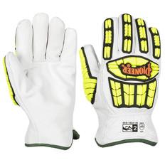 Goatskin Driver's TPR Impact-Resistant Glove, Cut Level A5 | Pioneer