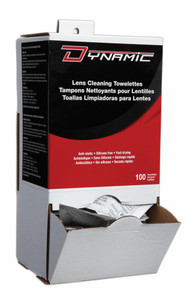Dynamic Lens Cleaning Towlettes
