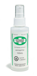 First Aid Cetrimide Tincture - 100 ml Bottle - Dynamic - FACT100