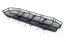 First Aid Wire Basket Stretcher with Straps Dynamic FAWBS
