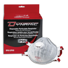 Deluxe P95 Disposable Respirators with Valve - 5 Pkg - Dynamic - RP815P95