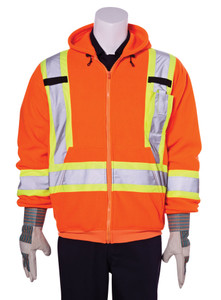 Hi-Vis Traffic Safety Hoodie  CSA, Class 2  Dyna-Lite TSSH2OG45