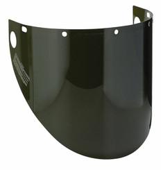 Dynamic Molded Windows Face Shield Green Shade 5 - 9 ½ X 20