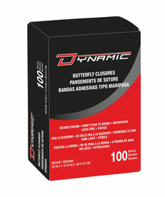 Dynamic Butterfly Closure - 100 per box