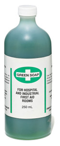 Green 15% Liquid Soap - 2 Pkg, 250 ml - Dynamic - FAGS250