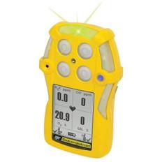 Quattro Multi-Gas Detector  %LEL, CO, H2S, O2 - Gas Alert - SKU QT-XWHM-A-Y-NA