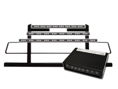 High Power LED Traffic Director with Control Box and Amber Luxe