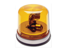High Profile Rotator Beacon with Parabolic Reflector