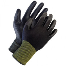 PU Coated Nylon Knit Grip Gloves - 12 Pkg - BDG Gloves 99-1-9802