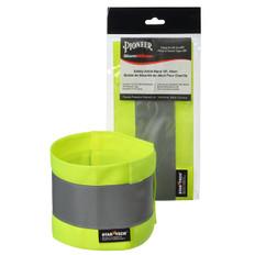 Adjustable Hi-Vis Safety Ankle Band | 2 Pair | Pioneer