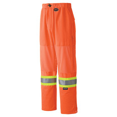 Hi-Vis Traffic Safety Pant with Mesh - CSA, Class 3 - Pioneer - 6001P Orange