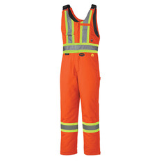 FR Hi-VisWinter QuiltedSafety Overall -FR, CSA- Pioneer - ORANGE 5534A