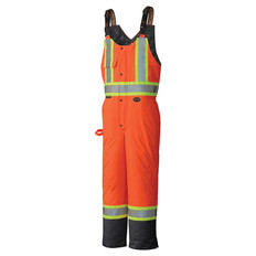 Hi-Vis Waterproof Quilted Safety Bib Pant CSA, Class 2 & 3 Pioneer 5040BB