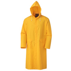 Extra Long 48 Inch PVC Rain Coat - Pioneer - 581