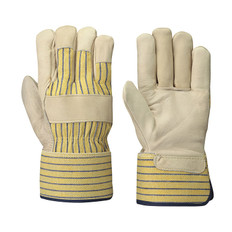 Fitter's Cowgrain Unlined Safety Glove - 12 Pkg - Pioneer - 536U