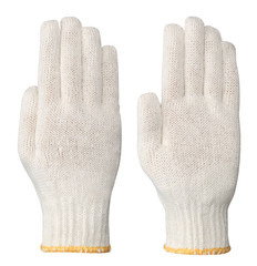 Knitted Poly/Cotton Glove Liner - Natural - Pioneer - 541