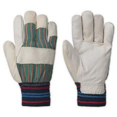 Cowgrain Glove - Fully Fleece Lined - Knit Cuff (12PK) | Pioneer