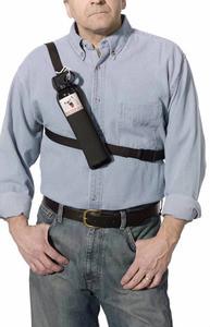 Frontiersman Nylon Chest Holster for 225G Canister