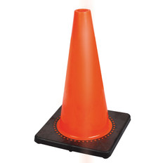 "Hi-Vis Premium Flexible Safety Cone - 18"" - Pioneer - 181P"