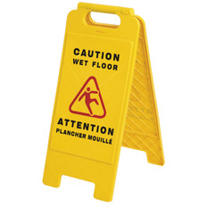 Wet Floor Safety Sign - Bilingual - Pioneer - 301