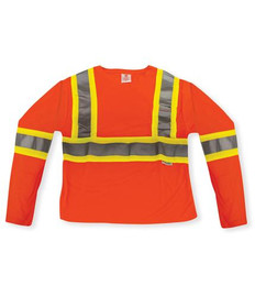 Orange 100% Polyester Wicking T-shirt | Pkg/25 | Incom