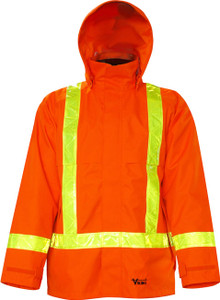 Hi-Vis Journeyman Trilobal Rain Jacket CSA, Class 2 Viking 3010J