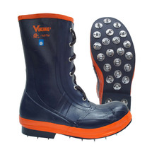 Lace-Up Steel Toe Spiked Forester Safety Boot CSA, Class 1 Viking VW57