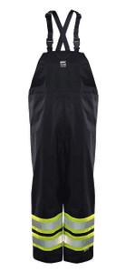 Black 6326PB Viking Open Road 150D Hi-Vis Insulated Waterproof Bib Pants
