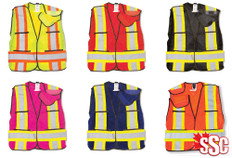 Hi-Vis Mesh Safety Vest - CSA, Class 2 - Big K - BK101