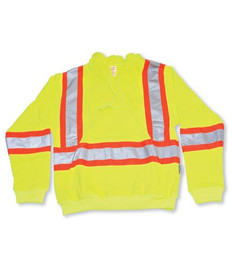 Lime Green 100% Polyester Hoodie Pull-Over Style | Big K