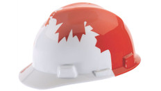 Canadian Specialty Hard Hat w/ Maple Leaf - CSA, Type 1 - MSA V-Gard 10050613