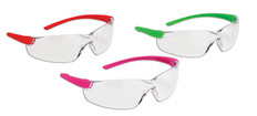 Ladies Mini Safety Glasses - 10 Pkg - Dynamic - EP325P/G/O Colour