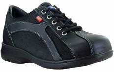 Daisy Women's Leather Safety Sneaker | Steel Toe, CSA | Mellow Walk