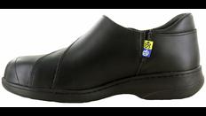 Daisy Women's Leather Slip-On Safety Shoe | Steel Toe, CSA | Mellow Walk