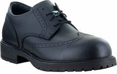 David Brogue Wingtip Leather Safety Shoe - Steel Toe, CSA - Mellow Walk - 507139