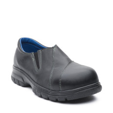 Maddy Women's Slip-On Leather Safety Boot | Metal-Free, CSA | Mellow Walk