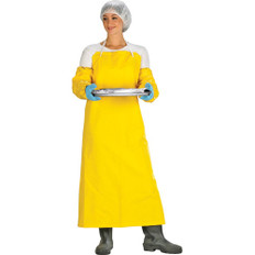FR Polyester Bib-Style Safety Apron - 48 in x 36 in - SCN - SAL661